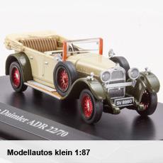 Modellautos klein 1:87