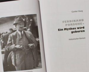 Lesung mit Gunter Haug - Ferdinand Porsche, Ein Mythos wird geboren