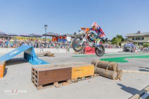 KTM-Stunt-Profi Dieter Rudolf.