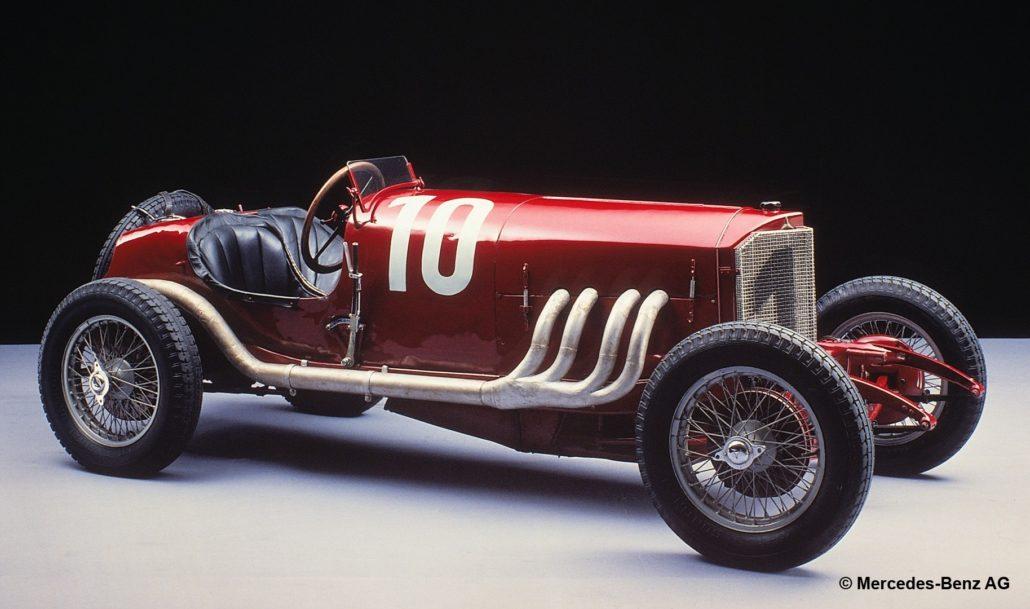 Mercedes-Targa-Florio-Rennwagen, 1924.